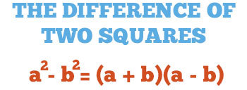 Difference of Squares/All Mixed Up - Algebra 1 Flipped